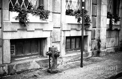 Photograph - Old Montreal Sidewalk by John Rizzuto