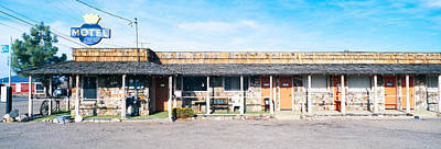 Bucolic Scenes Photograph - Old Motel In Tonopah, Nevada by Panoramic Images