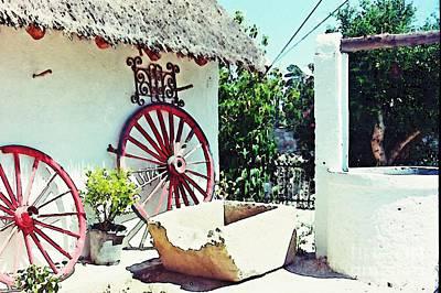 Wagon Wheels Photograph - Old Murcia by Sarah Loft