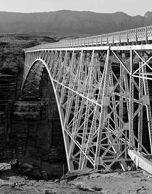Photograph - Old Navajo Bridge - Arizona by Daniel Hagerman