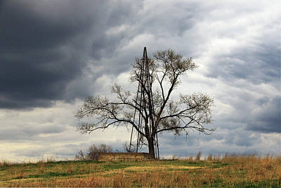 Photograph - Old Nebraska Landscape by Christopher McKenzie