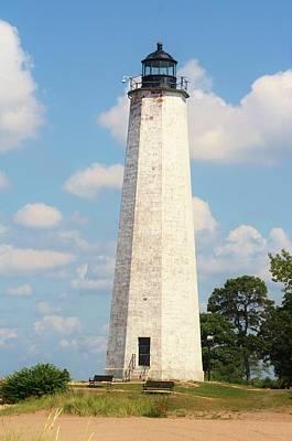 Photograph - Old New Haven Harbor Lighthouse by Karen Silvestri