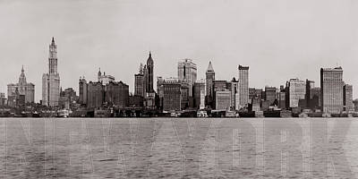 Photograph - Old New York by Andrew Fare