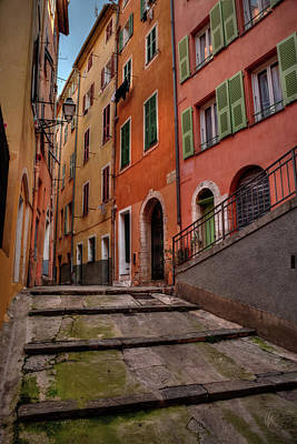 Photograph - Old Nice - Vieille Ville 002 by Lance Vaughn
