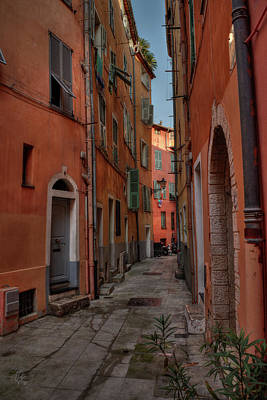 Photograph - Old Nice - Vieille Ville 003 by Lance Vaughn