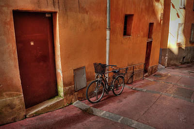 Photograph - Old Nice - Vieille Ville 006 by Lance Vaughn