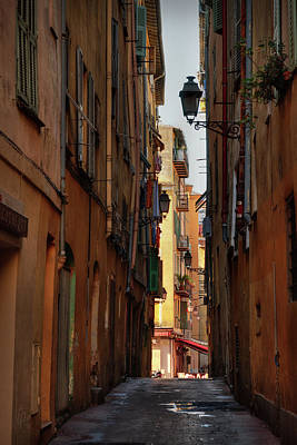 Photograph - Old Nice - Vieille Ville 009 by Lance Vaughn