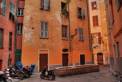 Photograph - Old Nice - Vieille Ville 010 by Lance Vaughn