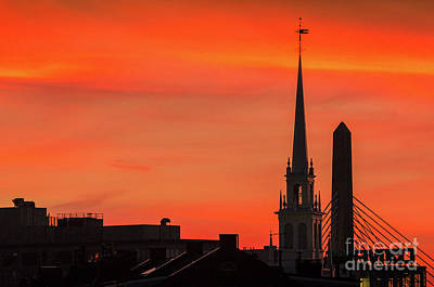 Photograph - Old North Church by Mike Ste Marie