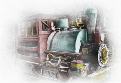 Photograph - Old Number 2 Engine by David and Carol Kelly