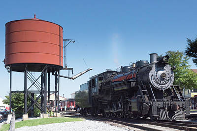 Photograph - Old Number 90 Steam Engine by Kenneth Cole