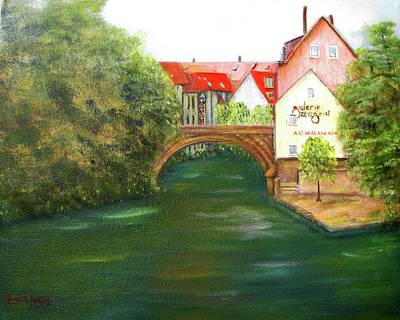 Painting - Old Nuremberg by Loretta Luglio