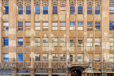 Photograph - Old Office Building by Derek Dean