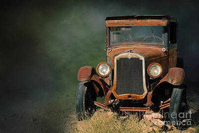 Digital Art - Old Oldsmobile by Jim Hatch