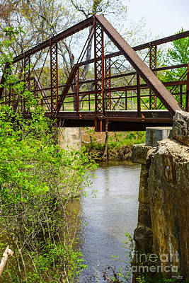 Photograph - Old One Lane Bridge by Jennifer White