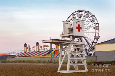Old Orchard Beach 1 Art Print by Jerry Fornarotto
