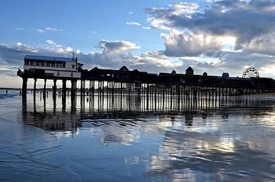 Old Orchard Beach Pier Art Print