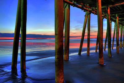 Photograph - Old Orchard Beach Pier -maine Coastal Art by Joann Vitali