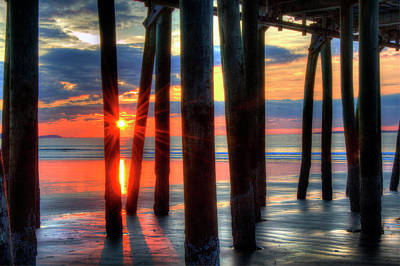 Photograph - Old Orchard Beach Pier - Maine by Joann Vitali