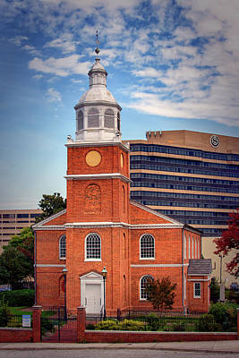 Photograph - Old Otterbein Methodist In Downtown Baltimore by Bill Swartwout Fine Art Photography
