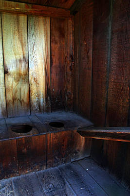 Old Outhouse Art Print