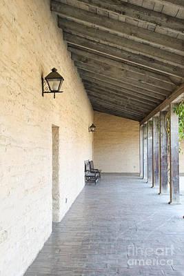 Photograph - Old Outside Corridor by Henrik Lehnerer