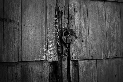 Photograph - Old Padlock by Scott Hill