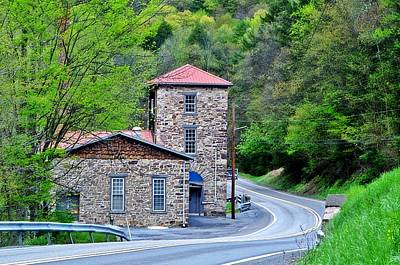 Photograph - Old Paint Mill Spring Time by Stephanie Calhoun
