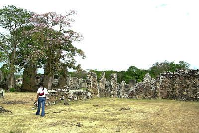 Bath Time - Old Panama City Ruins 6 by Douglas Barnett
