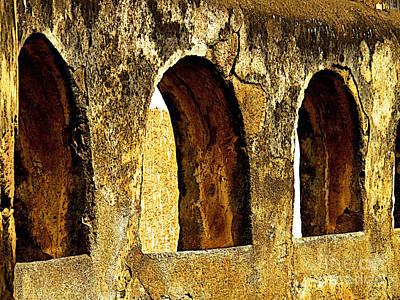 Patzcuaro Photograph - Old Patzcuaro Wall 1 by Mexicolors Art Photography