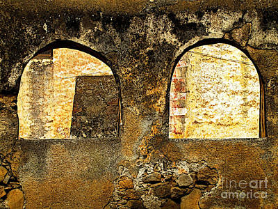 Patzcuaro Photograph - Old Patzcuaro Wall 2 by Mexicolors Art Photography