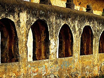 Patzcuaro Photograph - Old Patzcuaro Wall 3 by Mexicolors Art Photography