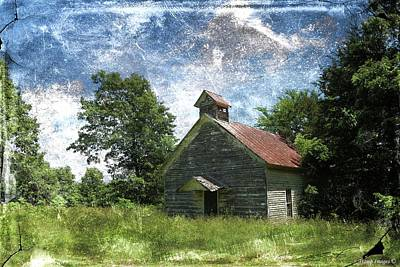 Photograph - Old Pd Flat Church by Wesley Nesbitt