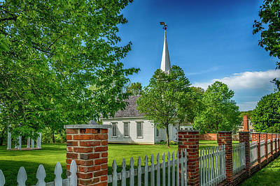 Photograph - Old Peace Chapel Defiance Mo 7r2_dsc6739_04252017 by Greg Kluempers