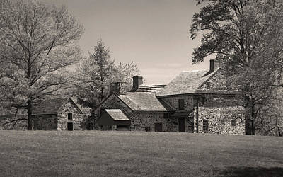Old Pennsylvania Homestead Print by Gordon Beck