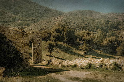 Photograph - Old Perithia, Corfu, Greece - Pastoral by Mark Forte