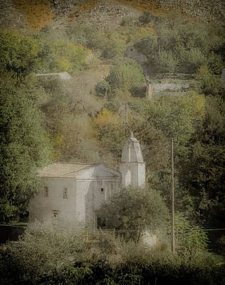 Photograph - Old Perithia, Corfu, Greece - Saint Spiridon by Mark Forte