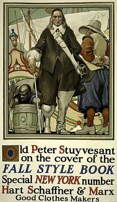 Digital Art - Old Peter Stuyvesant by Phat Artz