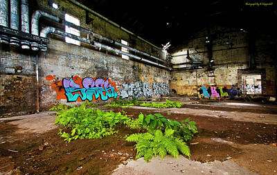 Photograph - Old Peters Factory 666 by Kevin Chippindall