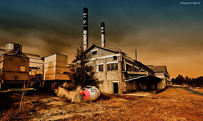 Photograph - Old Peters Factory 668 by Kevin Chippindall