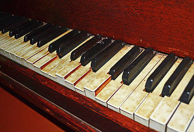 Photograph - Old Piano 001 by George Bostian