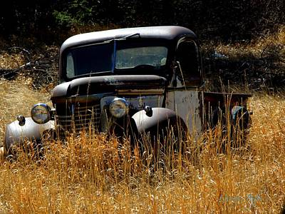 Photograph - Old Pickup Truck by George Tuffy