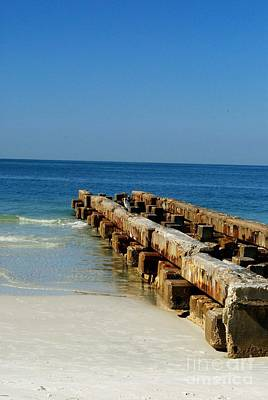 Photograph - Old Pier by Gary Wonning