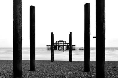 Photograph - Old Pier by Marek Stepan