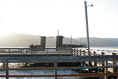 Photograph - Old Pier by Masha Batkova