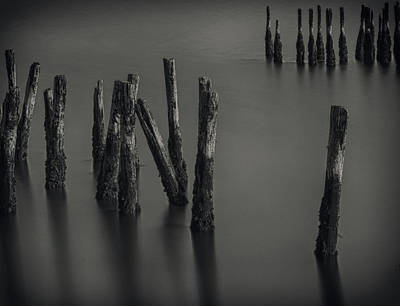 Photograph - Old Pier by Vintage Pix
