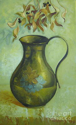 Painting - Old Pitcher by Elena Oleniuc