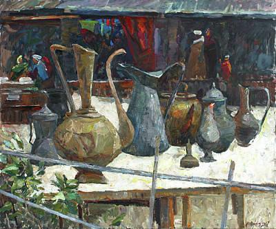 Painting - Old Pitchers by Juliya Zhukova