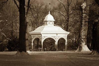 Photograph - Old Playground Shelter by Scott Rackers