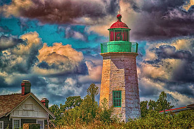 Photograph - Old Point Comfort Light  by Pete Federico